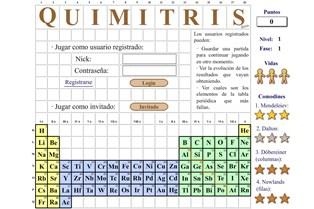 Refuerza aprende la tabla peridica de forma divertida quimitris es un juego en el que se une la qumica y el tetris urtaz Choice Image
