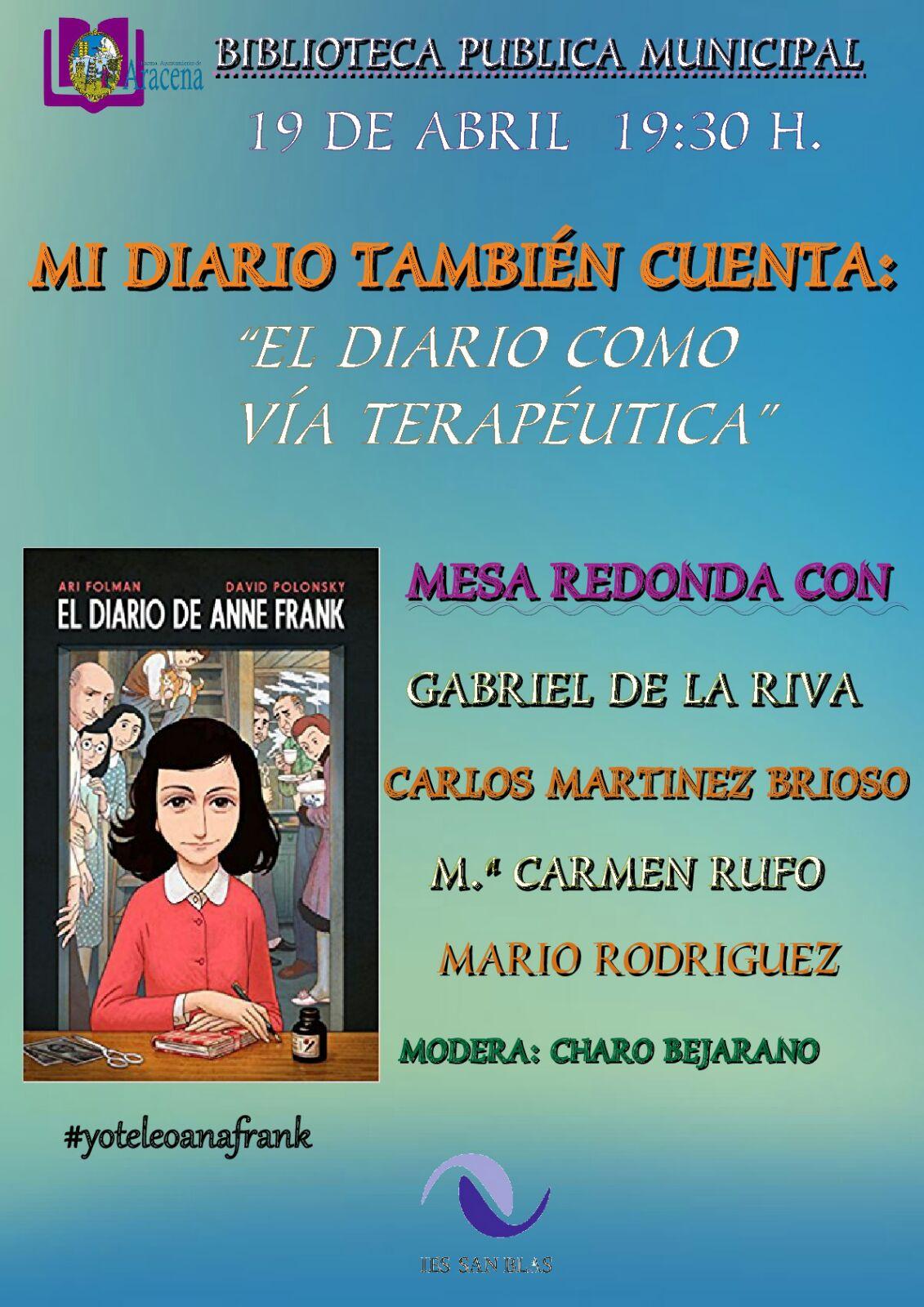 2018 Mesa Redonda Ana Frank