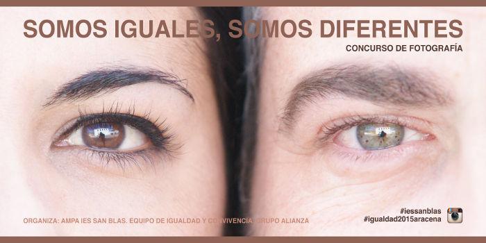 Cartel Concurso Igualdad Instagram 2015