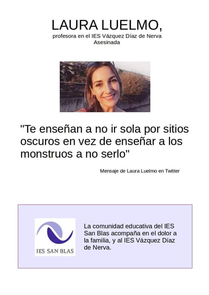 2019 Recuerdo de Laura Luelmo 01
