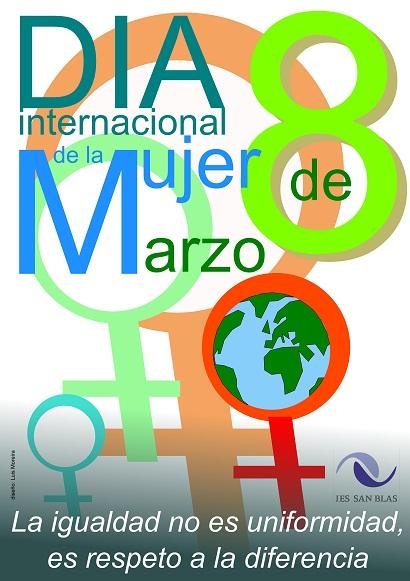 Cartel Día de la Mujer 2012