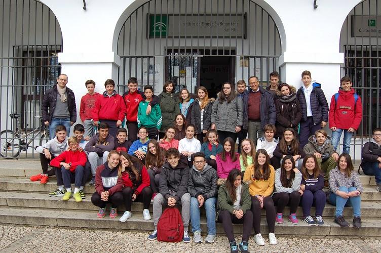 2016 Visita alumnos italianos