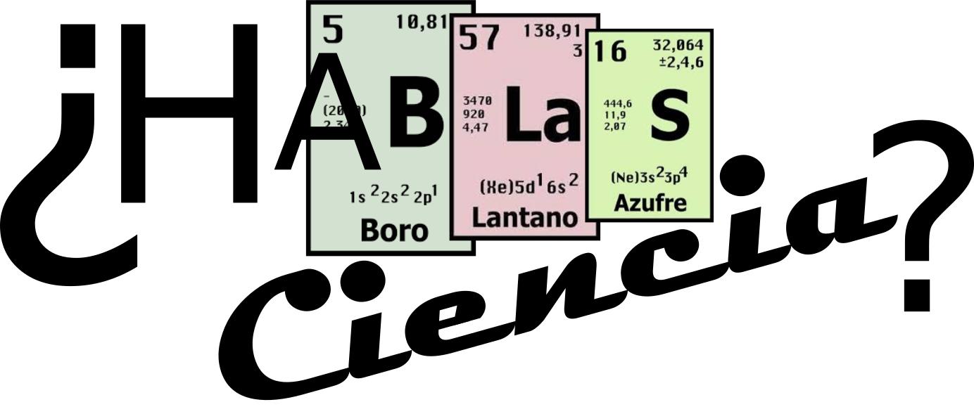 2018 Logo de HaBlas Ciencia