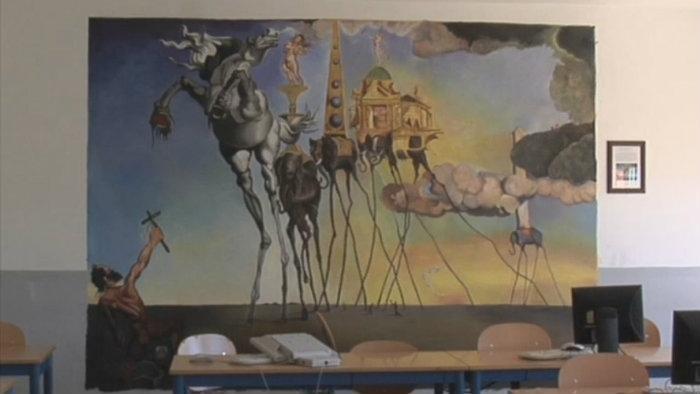 arte en las aulas