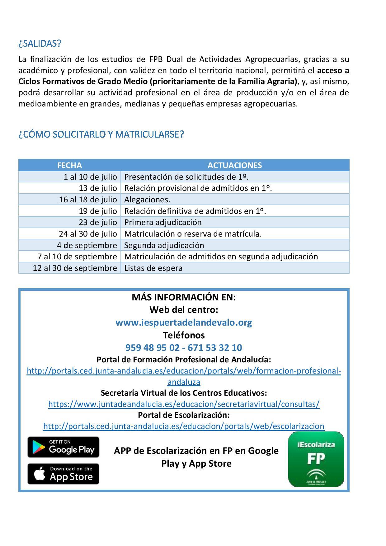 Sitio Web De Ies Puerta Del Andévalo