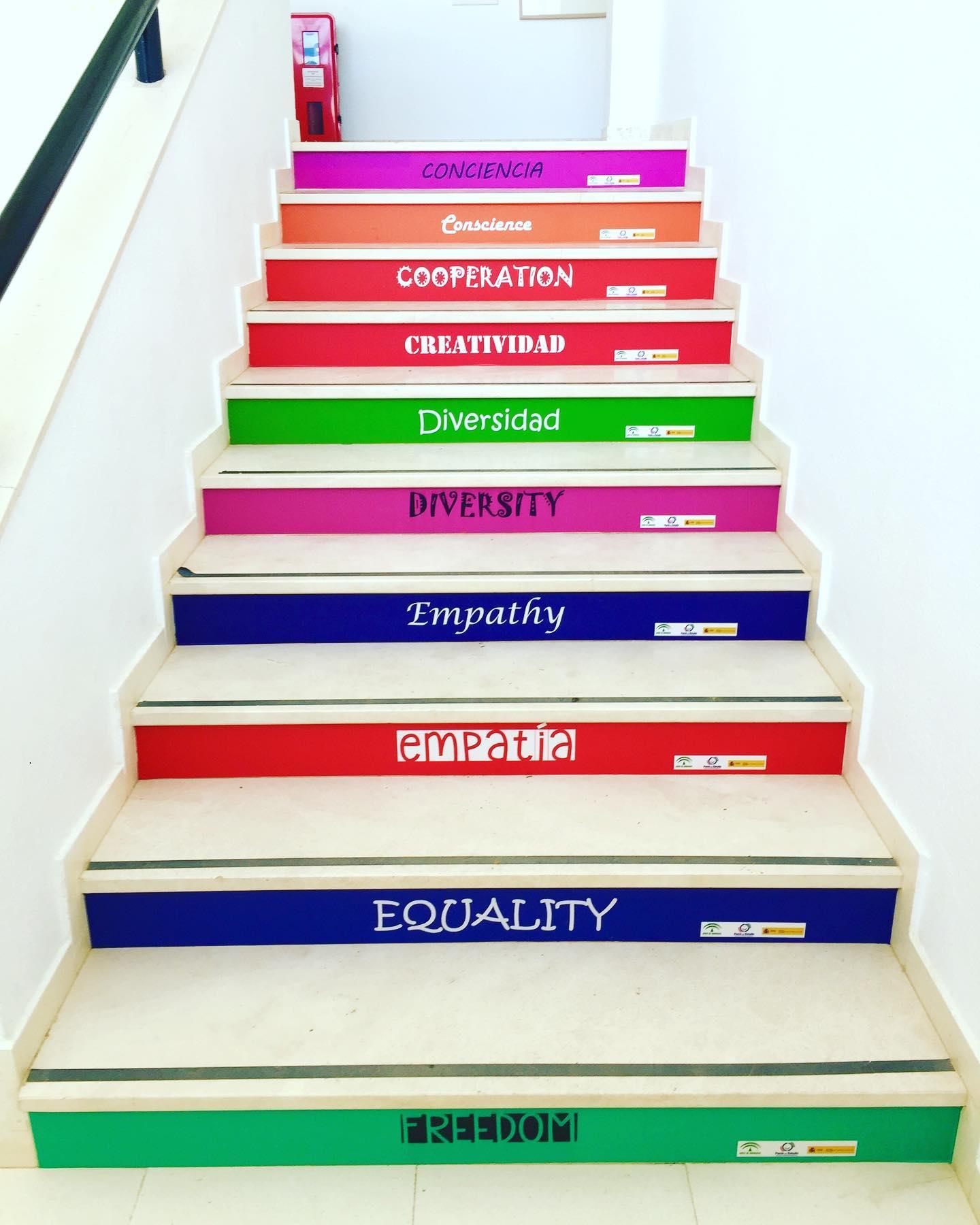 escaleras de igualdad