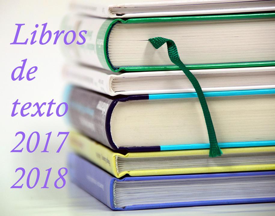 libros de texto 2017 2018