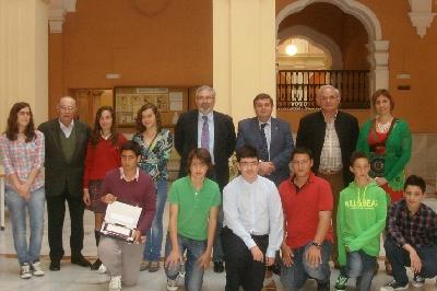 Finalistas THALES Huelva 2013