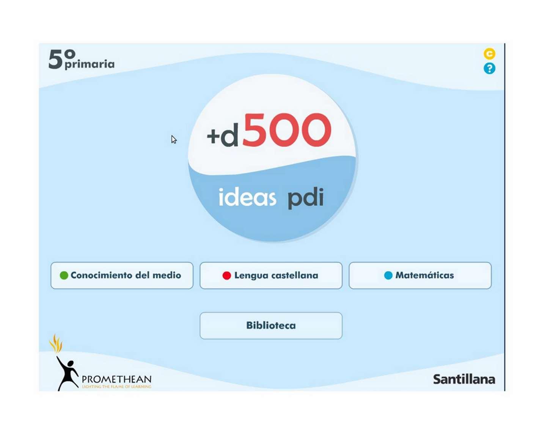 PDI Promethean Santillana
