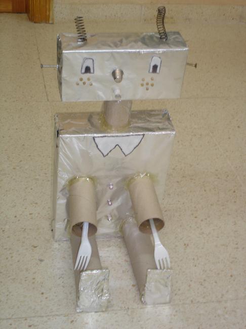 Como Hacer Un Robot De Reciclaje