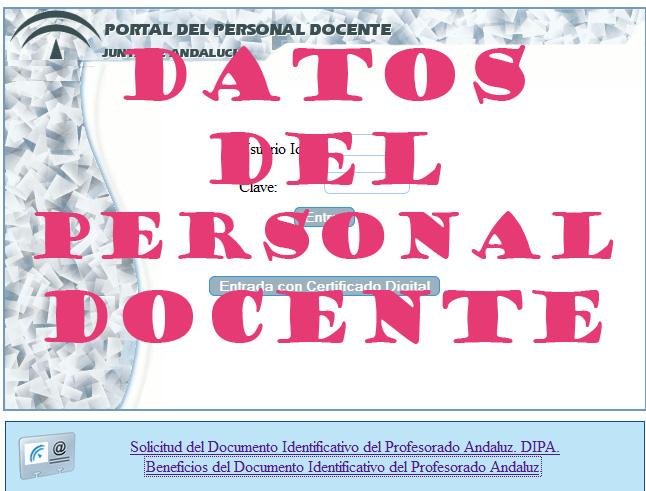 Portal Docente Andaluz