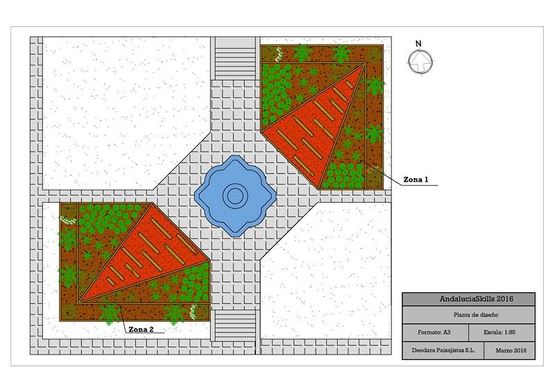 Plano concurso jardinería