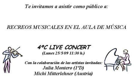 Recreo musical 2008-09