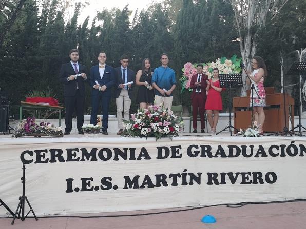 Alumnado con Matrícula de Honor en Bachillerato