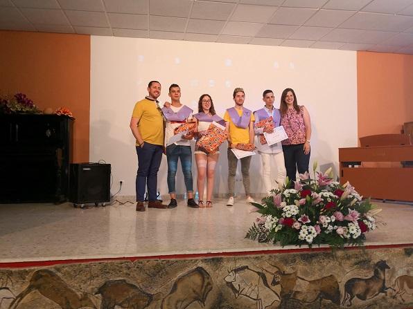 Graduación alumnado de Agrojardinería y composiciones florales