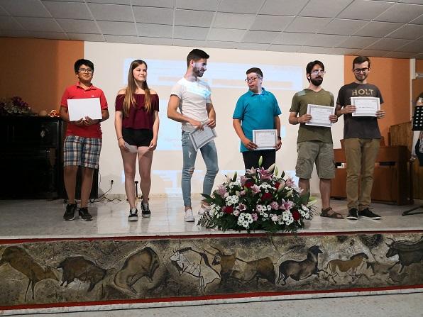 Alumnado premiado por colaboraciones técnicas