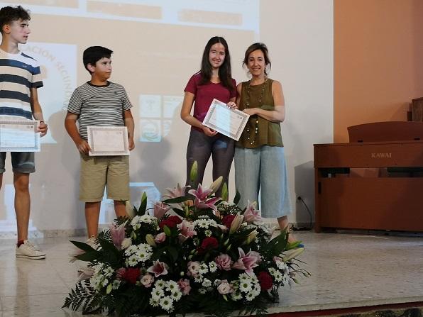 Alumnado premiado por concursos literarios