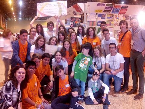 Alumnos y profesores del grupo de investigación