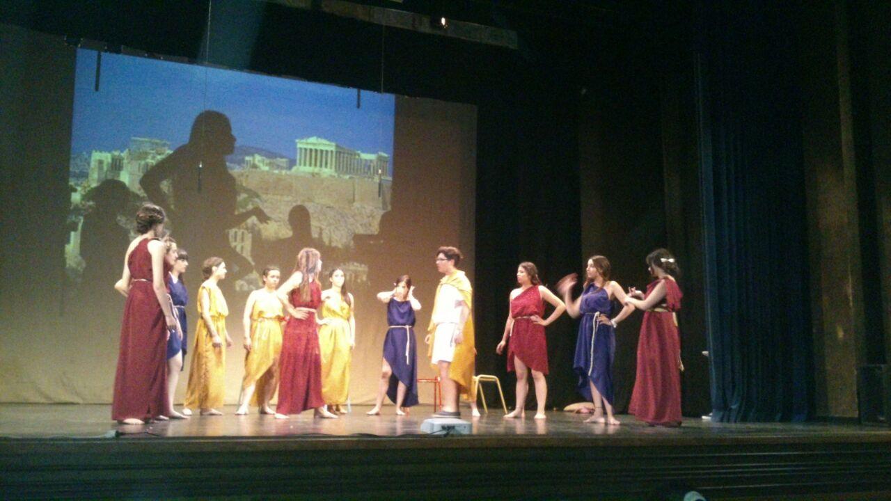 Representación obra de teatro Lisistrata
