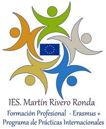 Logo ERASMUS   IES  Martín Rivero