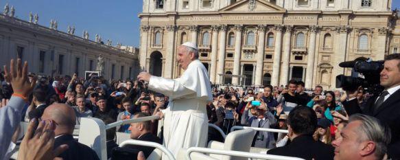 El Papa recibe a los alumnos