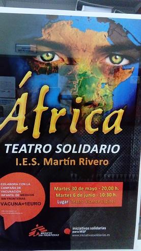 Cartel obra Africa
