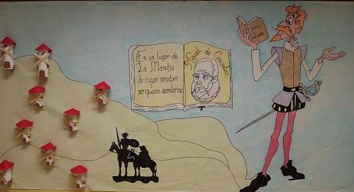 mural dia del libro