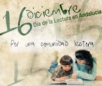 Poster del dia de la lectura en Andalucía