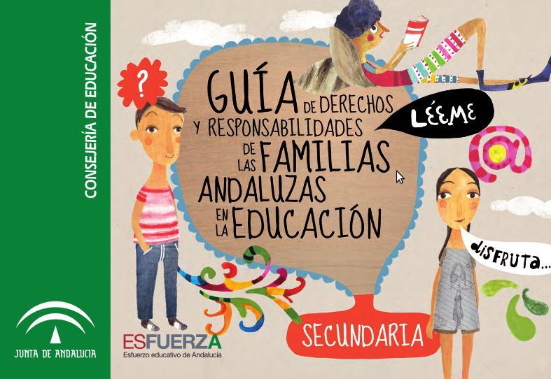 Portada de la Guía de Derechos y Responsabilidades de las familias en educación