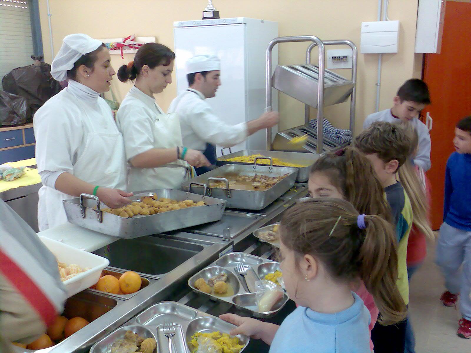 Programa PERSEO (III): El comedor escolar - Recetu00edn