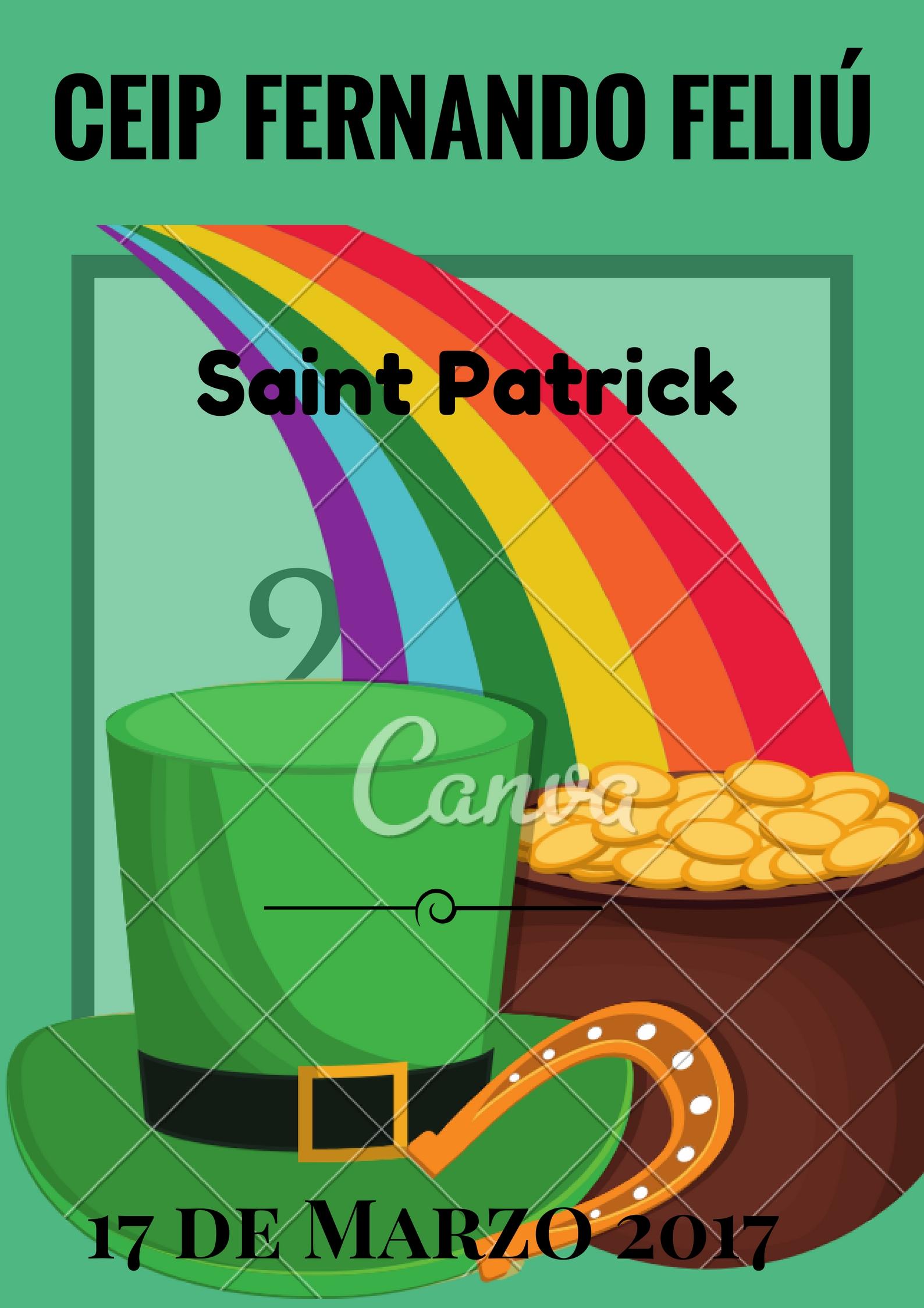 poster Saint Patrick