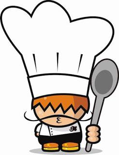dibujo cocinero niño