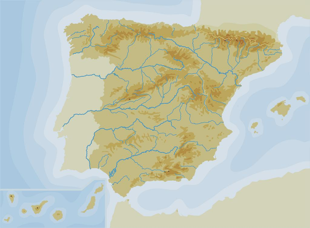 Mapa Politico De España Mudo Para Imprimir.Sitio Web De Ceip Maria Auxiliadora