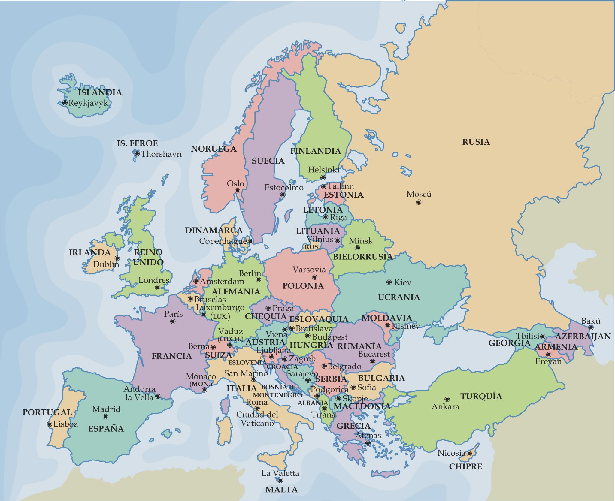 Mapa Politico Europa Mudo Pdf.Sitio Web De Ceip Maria Auxiliadora