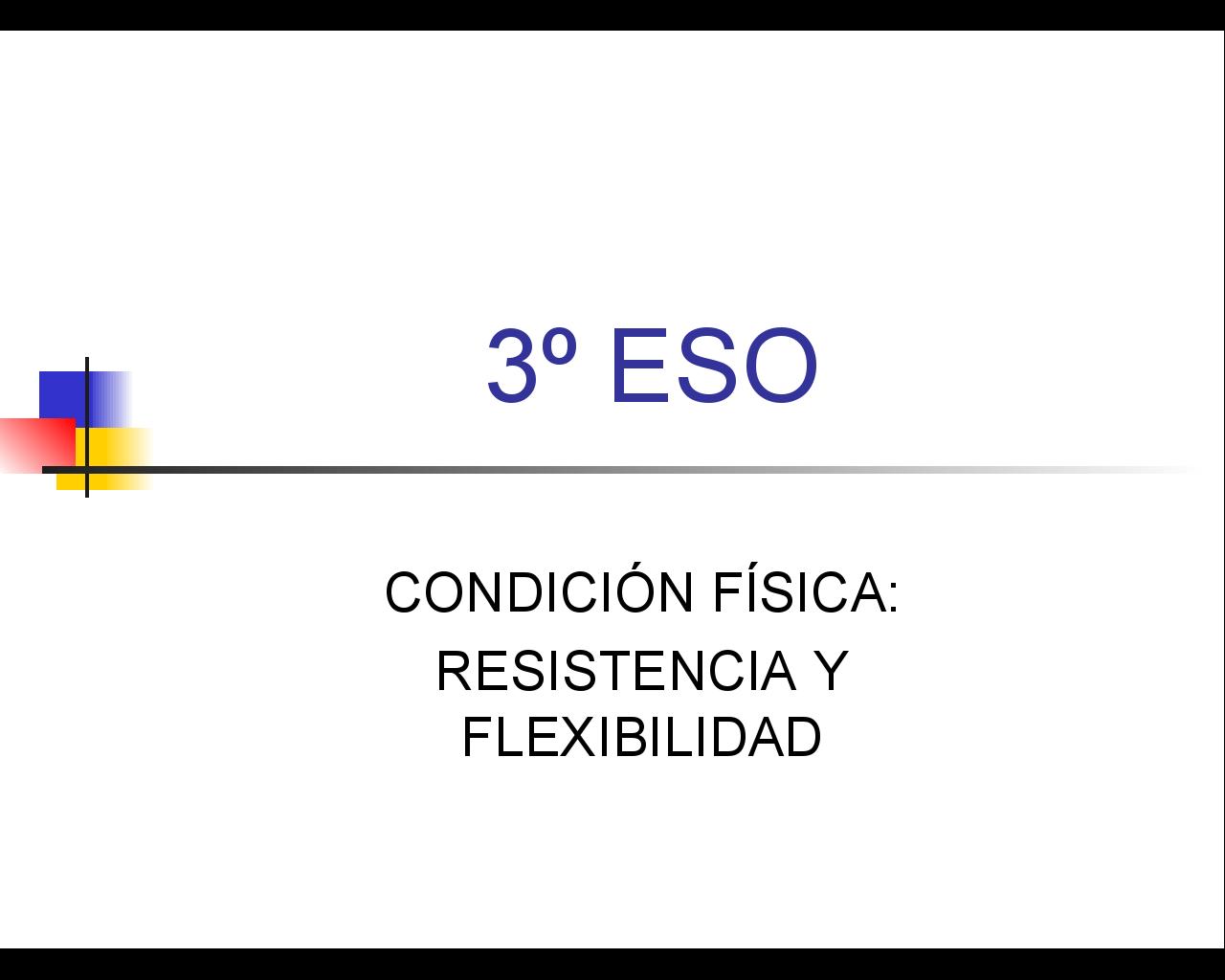 presentación de condición física