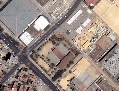 Vista satélite del Centro