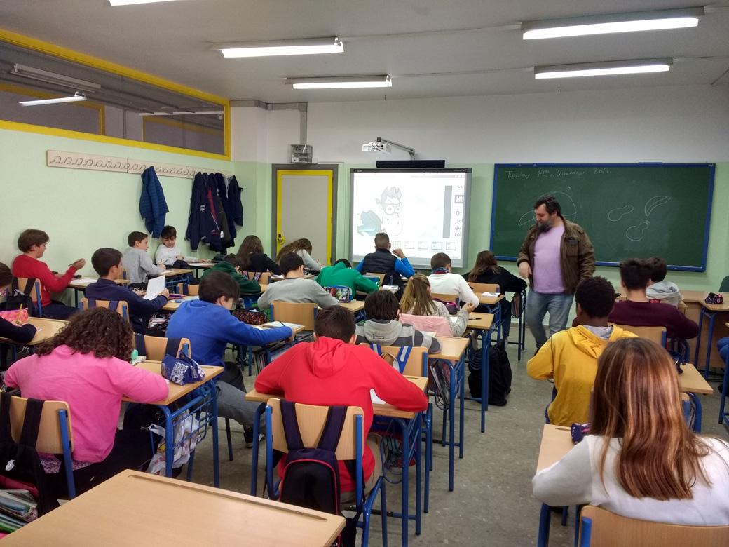 Sitio Web de IES Antonio Machado. Sevilla