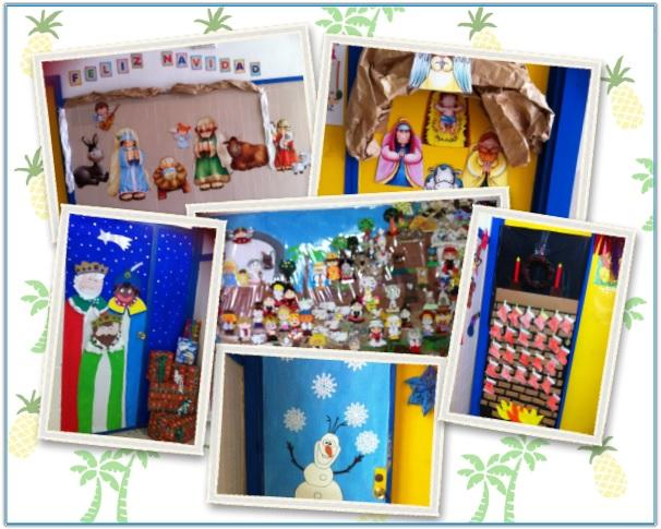 Collage decoración Navidad 2015