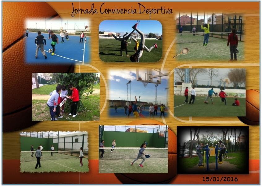 Jornada de Convivencia Deportiva en el Polideportivo Municipal