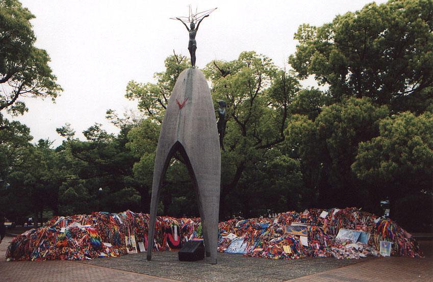 Resultado de imagen para sadako monumento