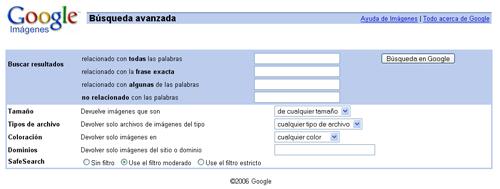 El buscador Google