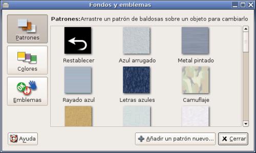 Personalización de la ventana de Nautilus