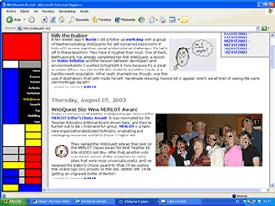 Página del creador de las webquest