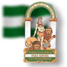 Andalucía escudo y bandera