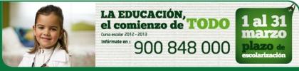 Escolarización 12.13