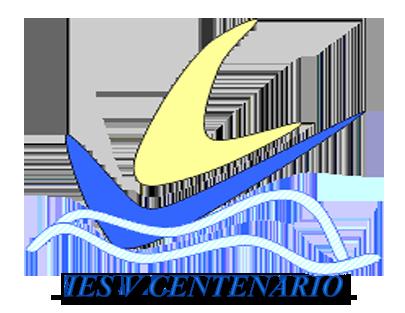 Logo IES V Centenario incluyendo texto con el nombre