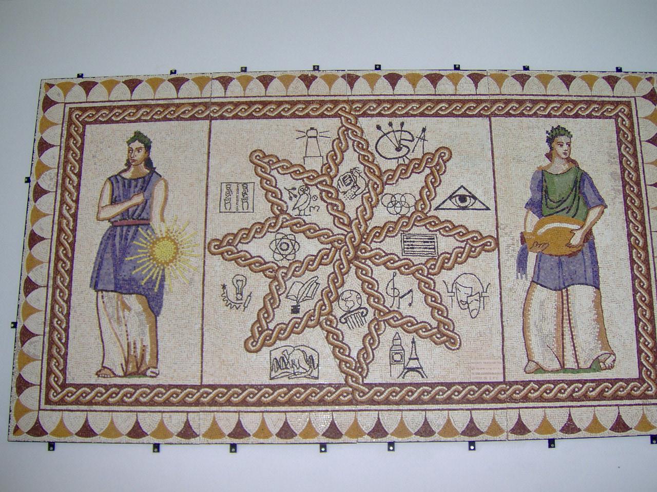 Mosaico del recibidor del centro