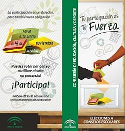 DIPTICO ELECCIONES A CONSEJOS ESCOLARES 2014