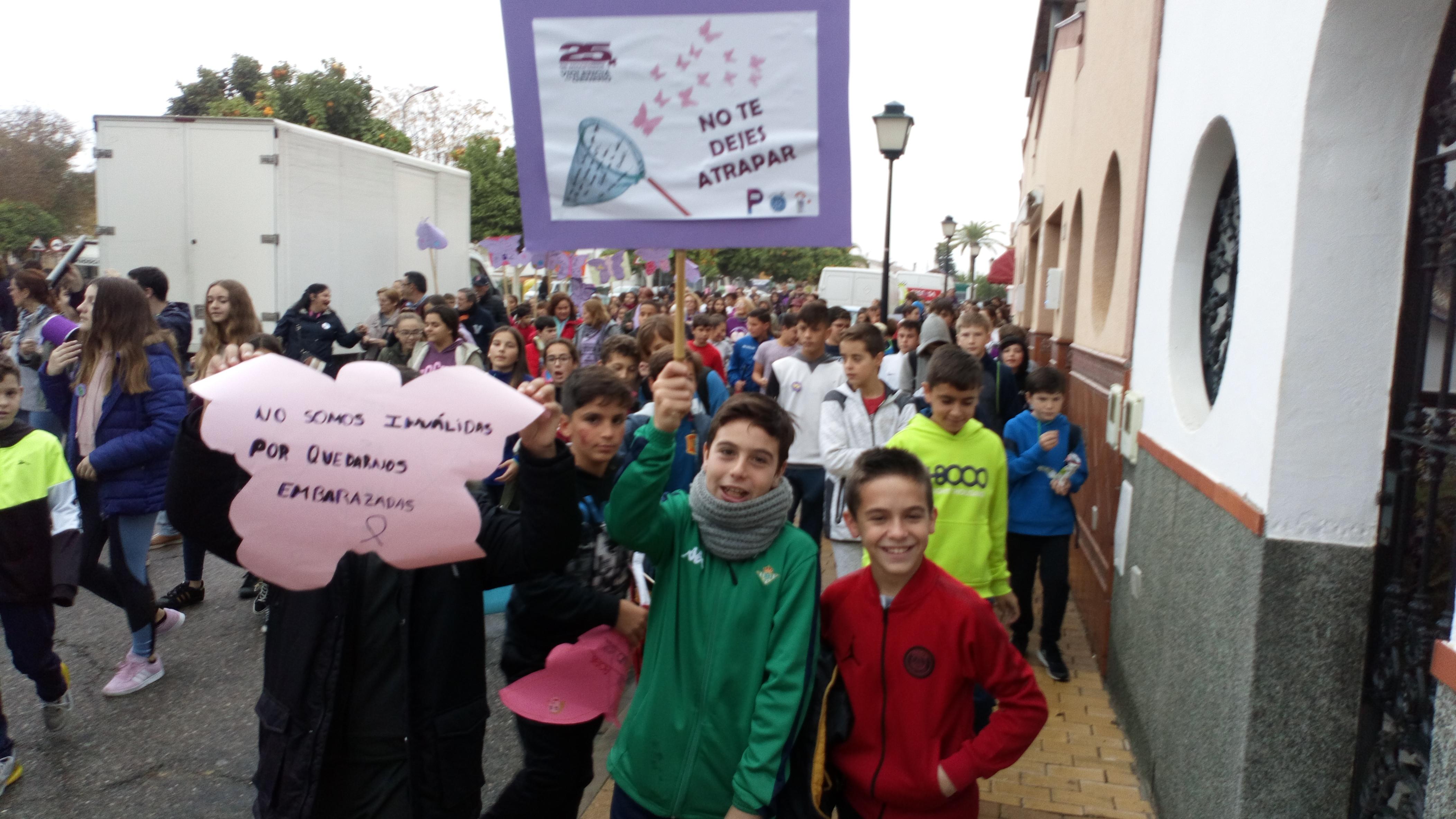 protesta contra violencia genero