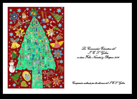 Felicitacion navidad 15-16 roja
